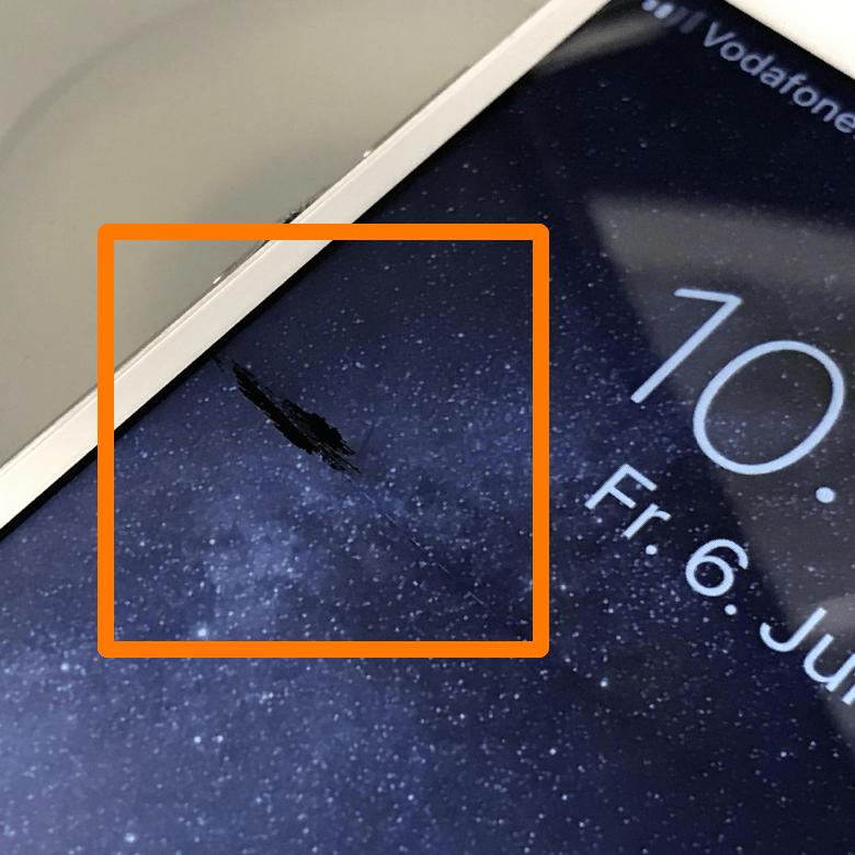 Apple - iPhone 7 - LCD Schaden