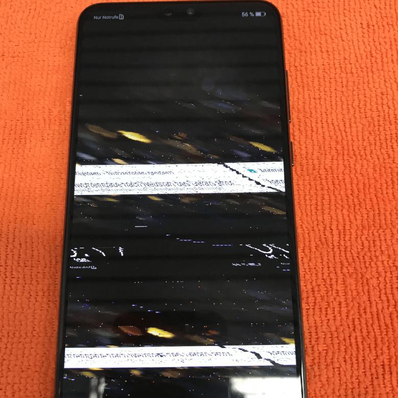 Huawei - Mate 20 Lite - LCD Grafik Chip Fehler