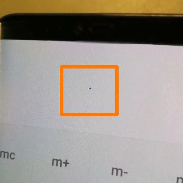 Huawei - Mate 20 PRO - Oled Pixelfehler
