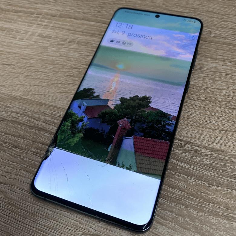 Samsung S20 Ultra 5G - Panel und Glasbruch